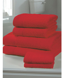Chatsworth Towel Bale Red - 2 Bath Sheets