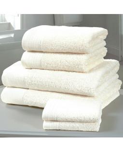 Chatsworth 4 Piece Towel Bale White - 2 Hand Towels, 2 Bath Towels