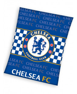 Chelsea FC Emblem Fleece Blanket