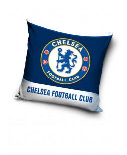 Cojín relleno de rayas blancas del Chelsea FC