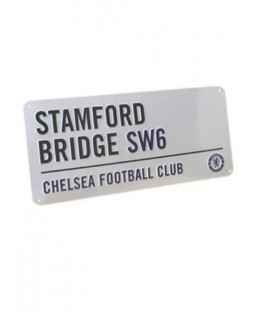 Chelsea FC Plaque de rue 'Stamford Bridge'
