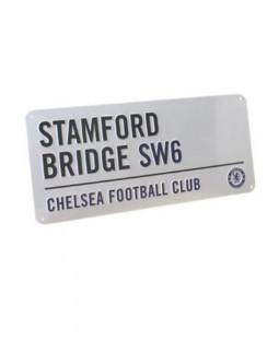 "Chelsea FC Segnale stradale ""Stamford Bridge"""