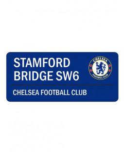 Chelsea FC Letrero de la calle Stamford Bridge