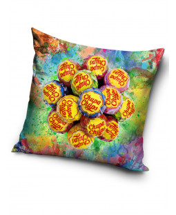 Chupa Chups Square Filled Cushion