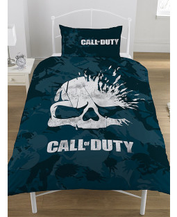 Call of Duty Broken Skull Camo Single Duvet Cover Set