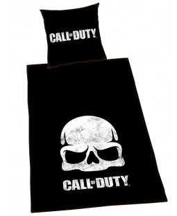 Call Of Duty Black Ops Skull Single Duvet Cover Set