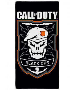 Call of Duty Black Ops Emblem Towel