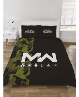 Call Of Duty Modern Warfare Icons Double Duvet Cover Set