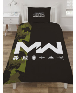Call Of Duty Modern Warfare Icons Single Duvet Cover Set