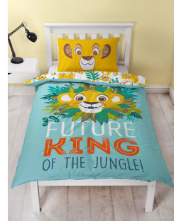 Disney Lion King Hakuna Single Panel Duvet Cover Set