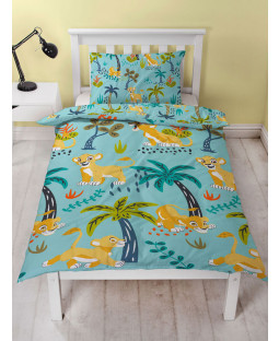 Disney Lion King Hakuna Single Duvet Cover and Pillowcase Set