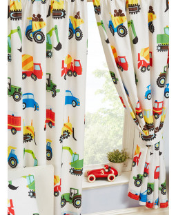Trucks and Transport Lined Curtains