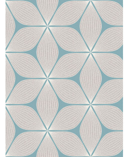 Vibration Geometric Glitter Wallpaper Duck Egg Coloroll M1023
