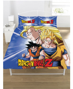 Dragon Ball Z Battle Double Duvet Cover and Pillowcase Set