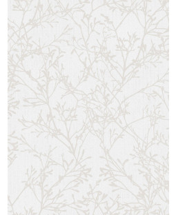 Fine Decor Tranquillity Tree Wallpaper - Grey / Silver FD41712
