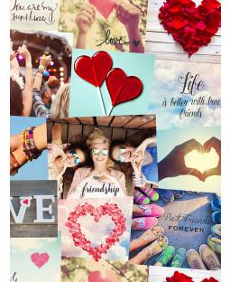 Festival Collage Wallpaper - Fine Decor FD41916
