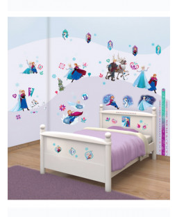 Walltastic Disney Frozen Room Decor Wall Sticker Kit