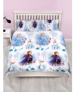 Disney Frozen 2 Element Double Duvet Cover and Pillowcase Set