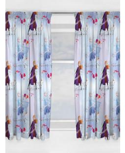 Disney Frozen 2 Element Curtains 54in Drop