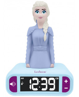 Disney Frozen 2 Elsa Night Light Alarm Clock