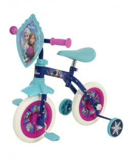 Disney Frozen 2 in 1 10 Inch Training Bike
