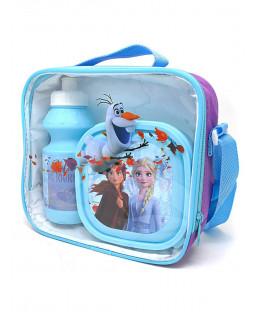 Disney Frozen 3 Piece Lunch Bag Set