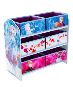 Disney Frozen 6 Bin Storage Unit