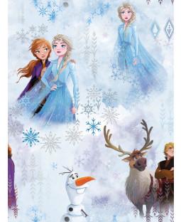 Disney Frozen 2 Wonder Wallpaper Blue Muriva 159510