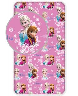 Disney Frozen Duo Sisters Purple Single Fitted Sheet