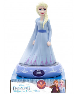 Disney Frozen Elsa 3D Figure Night Light Lampada