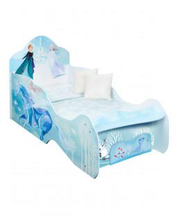 Disney Frozen 2 Kingdom Of Arendelle Toddler Bed with Sprung Mattress and Storage