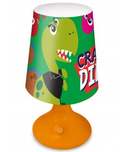 Crazy Dinosaurs Table Lamp