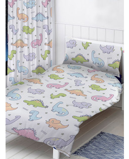 Dinosaurs 4 in 1 Junior Bedding Bundle Set