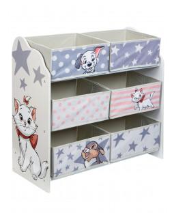 Disney Classics 6 Bin Storage Unit