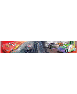 Disney Cars Race Track Self Adhesive Wallpaper Border 5m