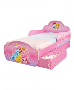 Disney Princess Toddler Bed with Storage