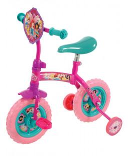 Disney Princess 2 in 1 10 Inch Training Bike
