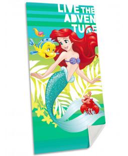 Disney Princess Ariel Little Mermaid Towel