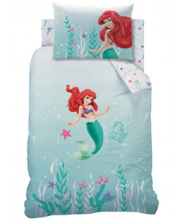 Disney Princess Ariel Under the Sea Single Duvet Cover Set