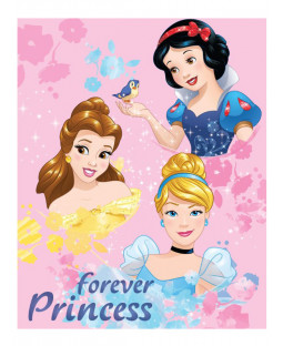 Disney Princess Forever Fleece Blanket