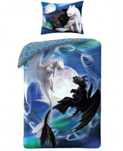 How to Train Your Dragon Duo Single Cotton Duvet Cover Set