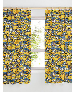 "Despicable Me Minions Curtains 54"" Drop"
