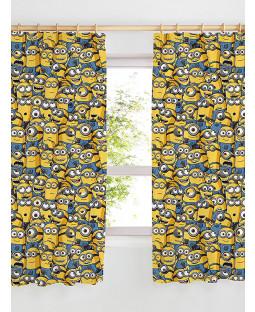 "Despicable Me Minions Curtains 72"" Drop"