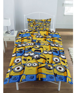 Despicable Me Minion Army Single Duvet Cover Bedding Set