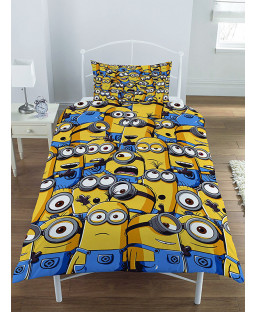Despicable Me Minions £50 Bedroom Makeover Kit Duvet Cover Front