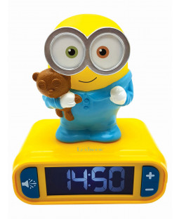 Despicable Me Minions Night Light Alarm Clock