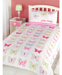 Housse de couette double Fly Up High Butterfly