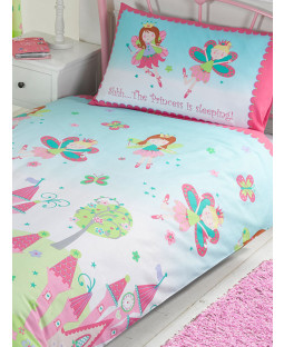 Princess is Sleeping Junior Toddler Duvet Cover & Pillowcase Set