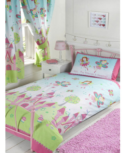 Princess is Sleeping 4 in 1 Junior Bedding Bundle - Duvet, Pillow, Duvet Cover and Pillowcase