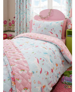 Unicorn Duvet Covers Curtains And Bedroom Wallpaper